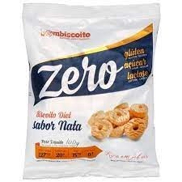 Imagem de Biscoito diet Bombiscoito zero glúten e zero Lactose Nata 100g