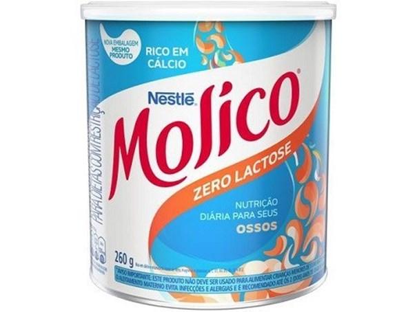 Imagem de Leite em pó zero lactose 260g - Molico