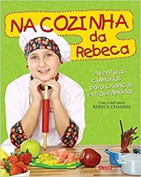 Imagem de Livro na cozinha da Rebeca