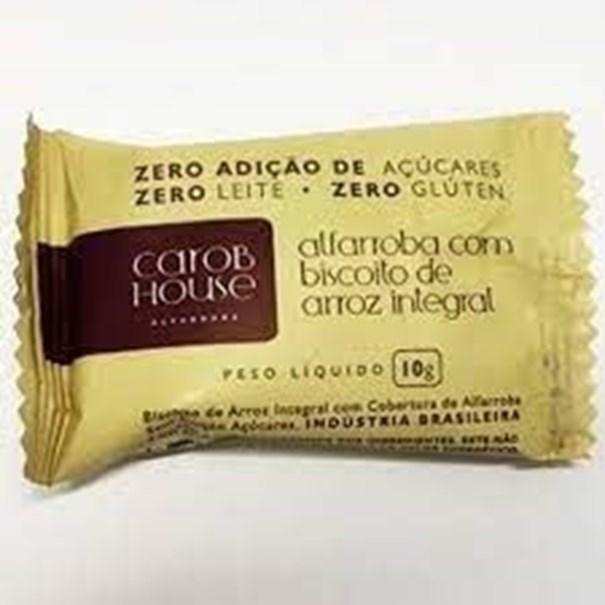 Imagem de Alfarroba com biscoito Arroz integral 10g