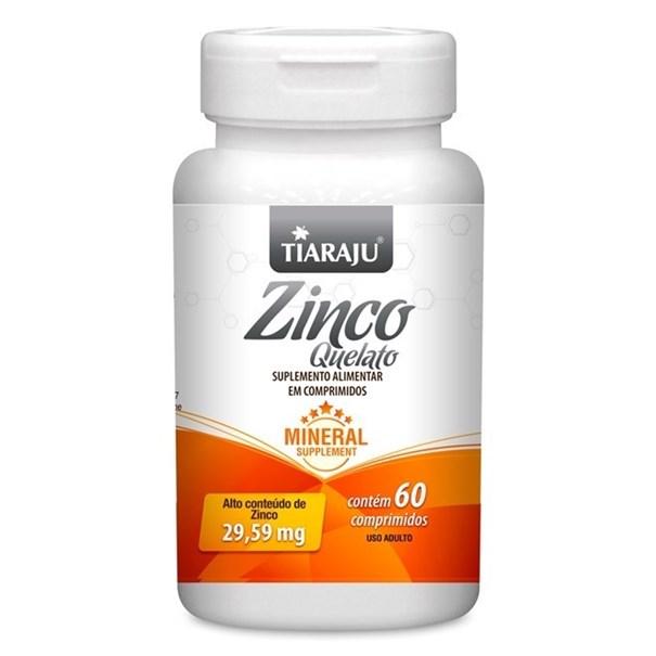 Imagem de Zinco 29,59mg Tiaraju 60 COMP