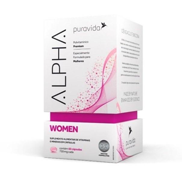 Imagem de Alpha Women Pura Vida Polivitamínico 60 Caps