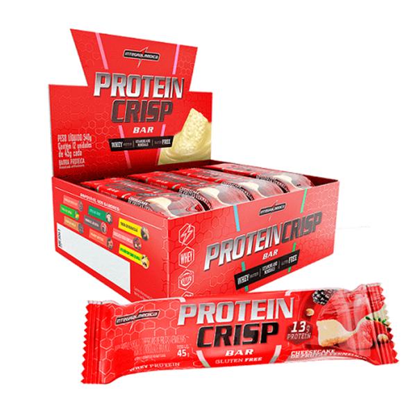 Imagem de Barra de proteína crisp leite c/creme de avela 45g -Integral Medica