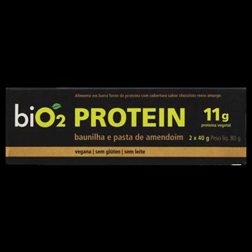 Imagem de Barra de proteína vegana baunilha biO2 40g