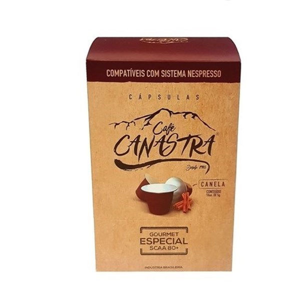 Imagem de Cafe Canastra Canela Caps 50g