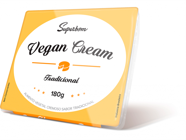 Imagem de Vegan Cream tradicional Superbom 180g