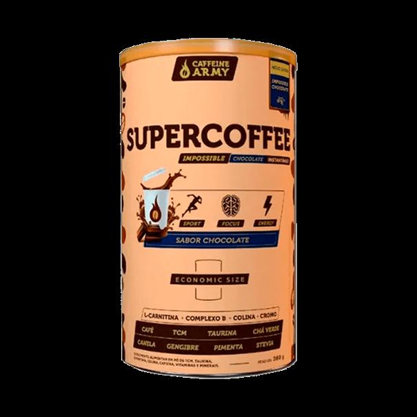 Imagem de Supercoffee Economic Size Chocolate Cafeinne Army 380g