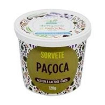 Imagem de Sorvete de Paçoca - Tempero e Saúde 120g