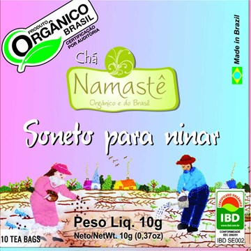 Imagem de Cha Namaste Soneto Para Ninar - 10g