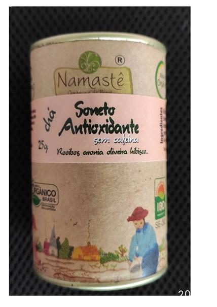 Imagem de Cha Soneto Antioxidante - Namaste 30g