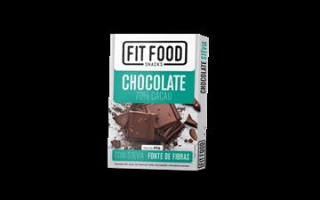 Imagem de Chocolate 70% cacau 40g -Fit Food