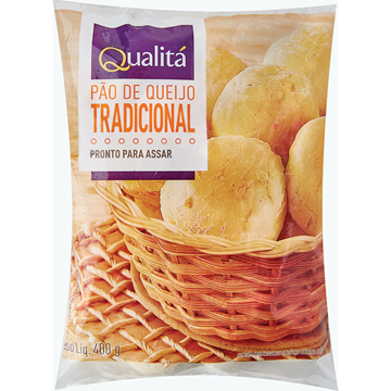 Imagem de Pão de queijo tradicional 400g - Vozita