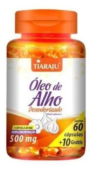 Imagem de Óleo de Alho Tiaraju 500mg 70caps