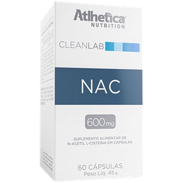 Imagem de NAC Atlhetica 600mg 60 Caps