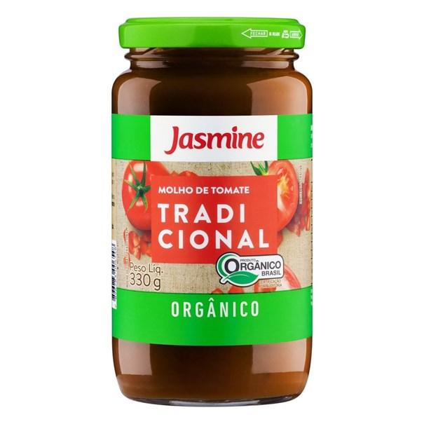 Imagem de Molho Tomate Tradicional orgânico Jasmine 330g