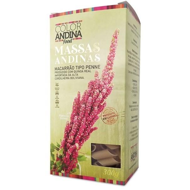 Imagem de Massa Penne de Quinoa Color Andina 70 300g