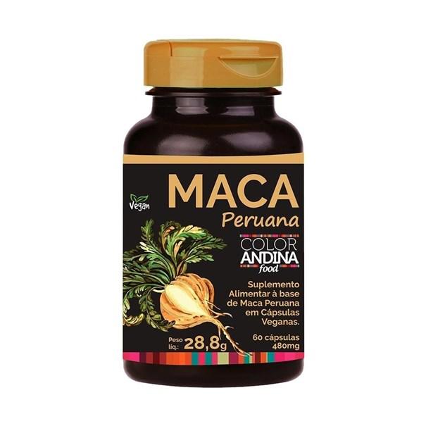 Imagem de Maca Amarela Vegana Color Andina 60cps
