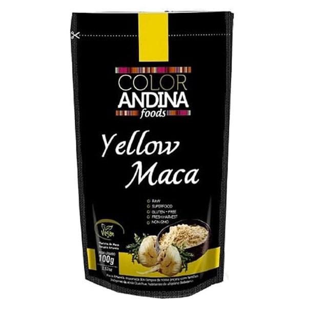 Imagem de Maca Amarela Pó Color Andina 100g