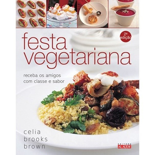 Imagem de Livro festa vegetariana