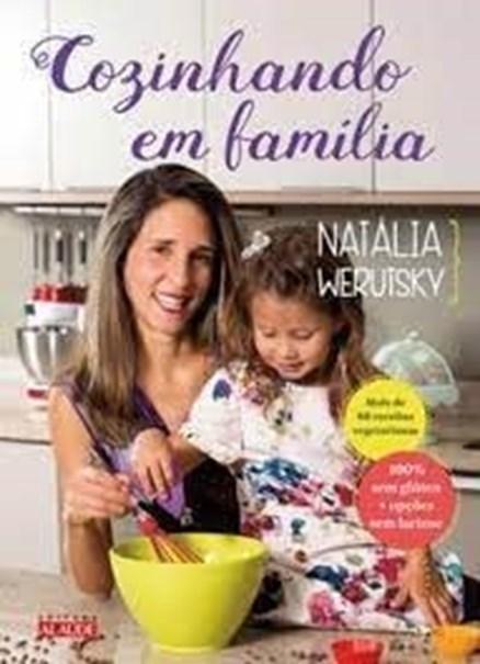 Imagem de Livro cozinhando em família