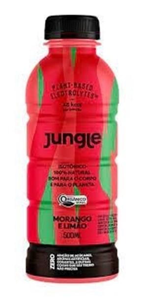 Imagem de Isotónico Orgânico Jungle Morango com Limão 500ml