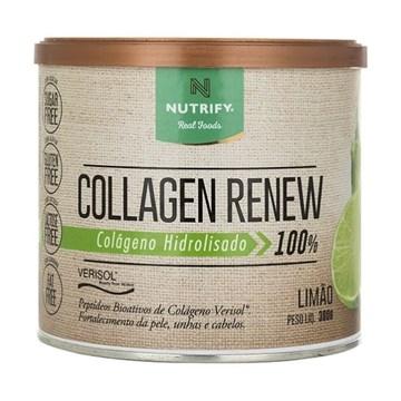 Imagem de Colágeno Collagen Renew Nutrify Limão 300g