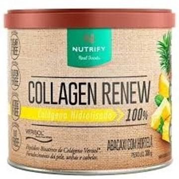 Imagem de Colágeno Collagen Renew Nutrify Abac Hortelã 300g