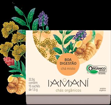 Imagem de Chá Funcional Orgânico Boa Digestão -  Iamaní