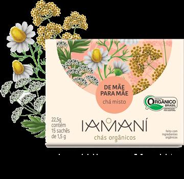 Imagem de Chá Funcional Orgânico De Mãe para Mãe - Iamaní