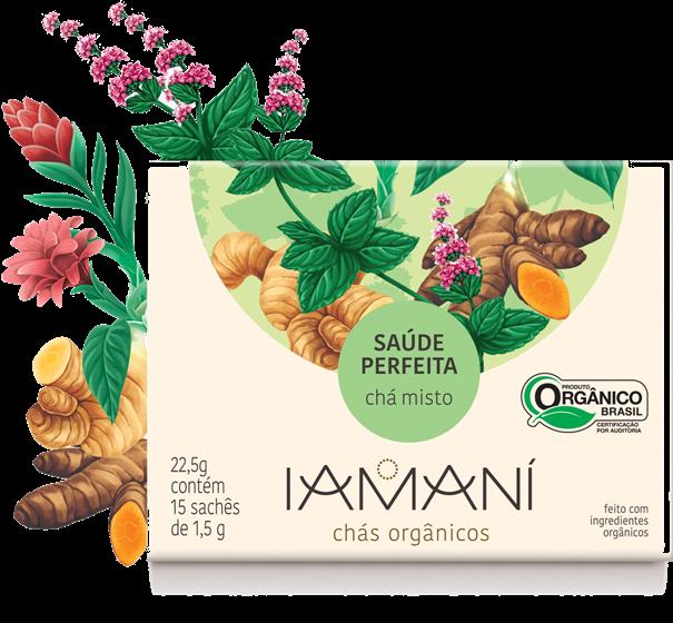 Imagem de Chá Funcional Orgânico Saúde Perfeita - Iamaní