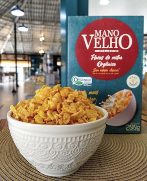 Imagem de Cereal Matinal Organico - Mano Velho 200g