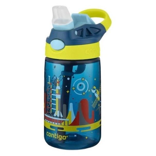 Imagem de Squezze Infantil Gizmo  Azul  Espacial - Contigo 414ml