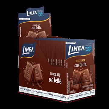 Imagem de Chocolate ao leite 30g - Linea