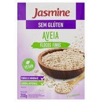Imagem de Aveia em flocos finos sem glúten 200g -Jasmine