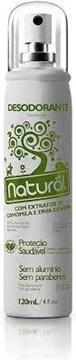 Imagem de Desodorante de camomila e erva cidreira 120ml - Natural Suavetex