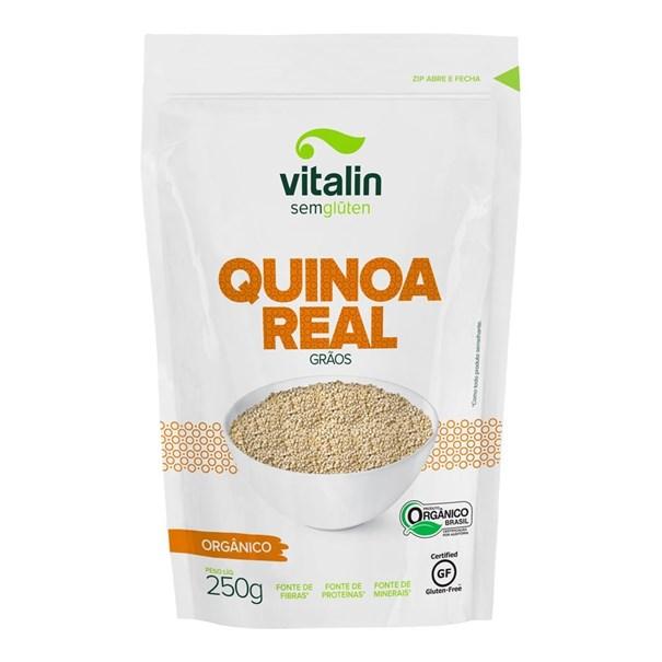 Imagem de Quinoa real em grãos orgânico 250g -  Vitalin