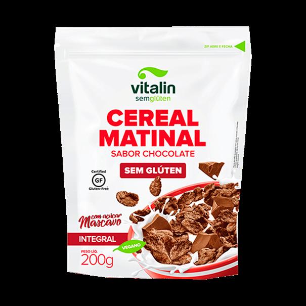 Imagem de Cereal matinal chocolate sem glúten 200g - Vitalin