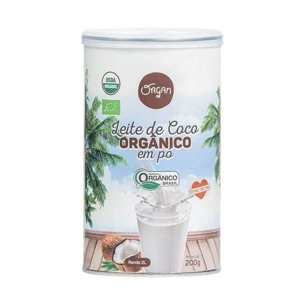 Imagem de Leite de Coco em  Po Organico - Organ Alimentos 200g