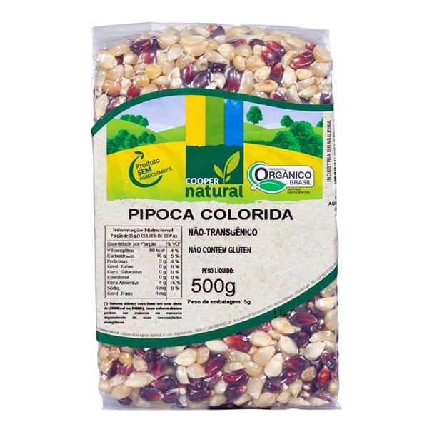 Imagem de Milho de Pipoca Coopernatural Colorida 500g
