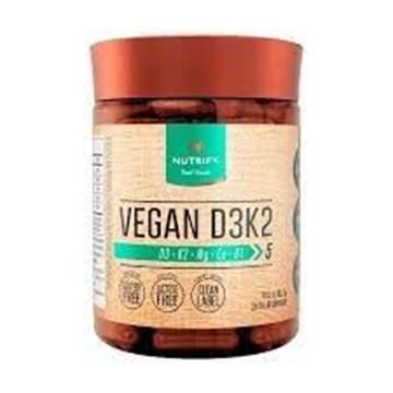 Imagem de Vegan D3K2 60 capsulas  - Nutrify