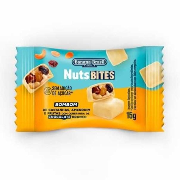 Imagem de NutsBites - Bombom  com Cobertura de Chocolate Branco 15g