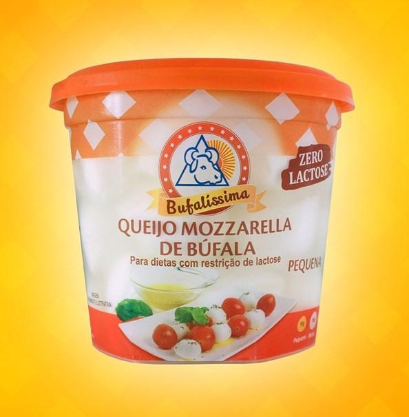 Imagem de Queijo Mozzarela de Bufala Bola Zero Lactose Bufalissima 180g