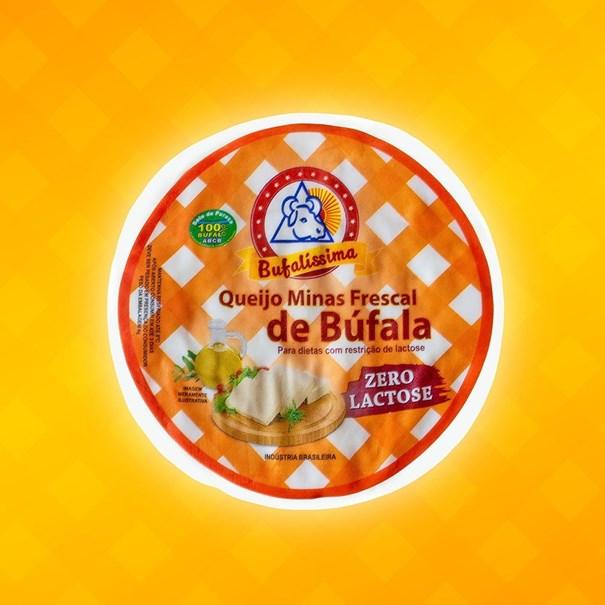 Imagem de Queijo Minas Frescal Zero Lactose - Bufalissima (100g)