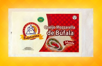 Imagem de Queijo Mozzarella Manta - Bufalissima (100g)
