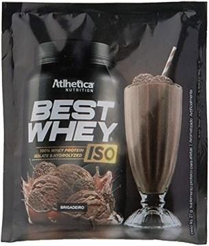 Imagem de Best Whey Protein Iso Brigadeiro 27g (Sachê Dose única) - Athletica
