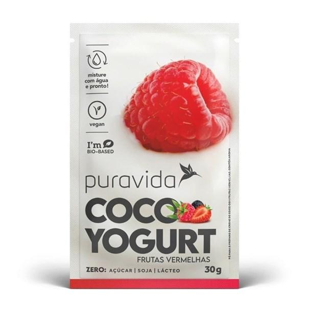 Imagem de Coco yogurt Frutas Vermelhas - Puravida 30g