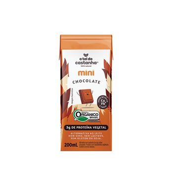 Imagem de Bebida  Mini A Tal da Castanha Chocolate 200ml