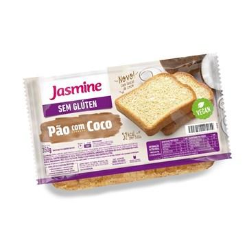 Imagem de Pão Fatiado Sem Glúten Jasmine Coco 350g