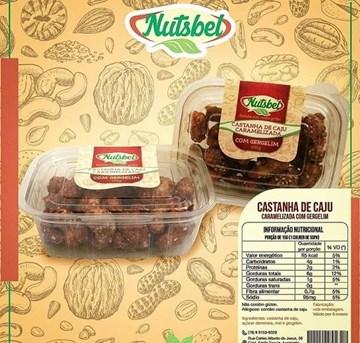 Imagem de Castanha de Caju Caramelizada com Gergelim - Nutsbel 100g