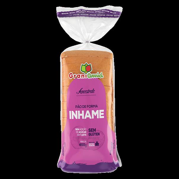 Imagem de Pão de Forma Inhame - Grani Amici 450g